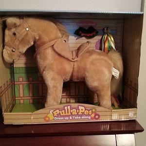Pull-a-pet pony